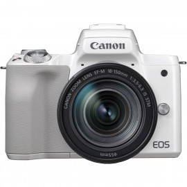 CANON EOS M 50 + EFM 18-150 weiss