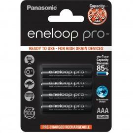 Panasonic Eneloop Pro 4x AAA 930mAh 1x4 AAA Micro Akkus