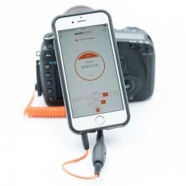 Miops Mobile Kit inkl. Dongle und Kabel für Sony RM-VPR1 - passend zur Fernauslöser-App für Smartphones