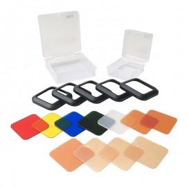 Litra Photo Filter Set - Kunstlicht-/Farbfilter-Set für die LitraTorch-LED-Leuchte