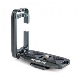 3 Legged Thing ELLIE Grey (Grau) universeller L-Winkel kompatibel mit Peak Design Capture Clip und Arca