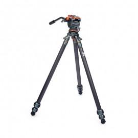 3 Legged Thing Legends Mike hochwertiges Carbon-Videostativ mit AirHed Cine Standard-Videokopf