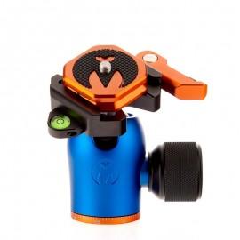 3 Legged Thing AirHed Pro Lever Blue (Blau) - Kleiner, leistungsfähiger Kugelkopf mit Arca-kompatibler Schnellwechselplatte