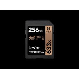Lexar SDXC Card 256GB Professional 633x UHS-I V30 U3