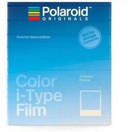 Polaroid Color Film für I-type Summer Blue