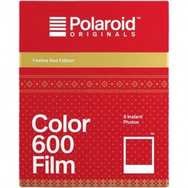 Polaroid Color Film für 600 Red edition