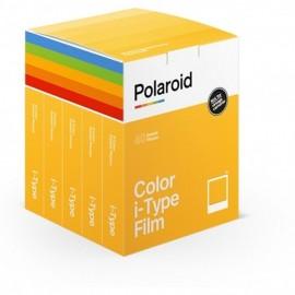 Polaroid Color Film für I-type 5x8 Bilder (40 Bilder)