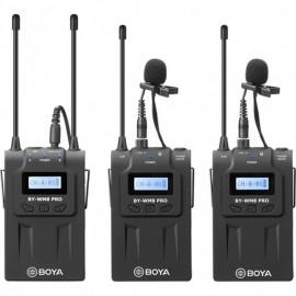 Boya BY-WM8 PRO K2 UHF-Funkmikrofon-Kit 2TX + 1RX