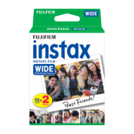 FUJI INSTAX WIDE FILM DP 2X10 BILDER