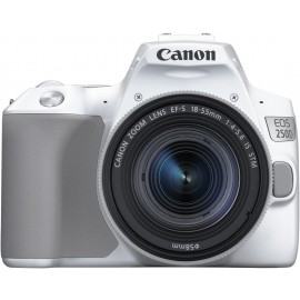 CANON EOS 250D Weiss + EFS 18-55 IS STM