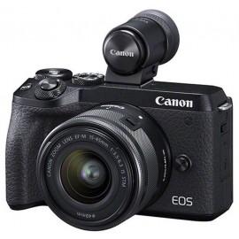 Canon EOS M6 II+EF-M 3,5-6,3/15-45mm IS STM schwarz Kit  ( -60,00€ EINTAUSCH-PRÄMIE)