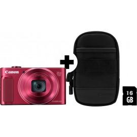 Canon PowerShot SX620 HS rot  inkl.SD Speicher und Tasche