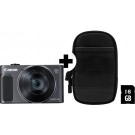 Canon PowerShot SX620 HS schwarz  inkl.SD Speicher und Tasche