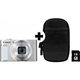 Canon PowerShot SX620 HS weiß inkl.SD Speicher und Tasche