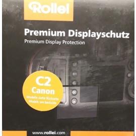 Rollei Display Schutzfolie für Canon C2