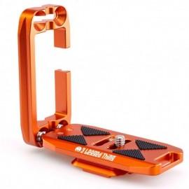 3 Legged Thing ELLIE Copper (Kupferfarben) universeller L-Winkel kompatibel mit Peak Design Capture Clip und Arca
