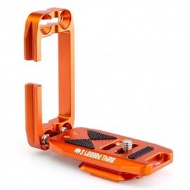 3 Legged Thing ELLIE SHORT Copper (Kupferfarben) kurzer universeller L-Winkel kompatibel mit Peak Design Capture Clip und Arca