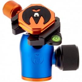 3 Legged Thing AirHed Pro Blue (Blau) - Kleiner, leistungsfähiger Kugelkopf mit Arca-kompatibler Schnellwechselplatte