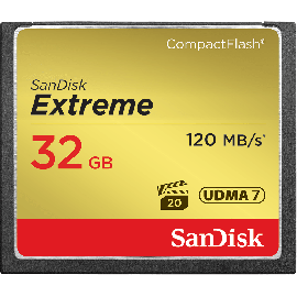 SanDisk Extreme CF 32GB 120MB/s UDMA7