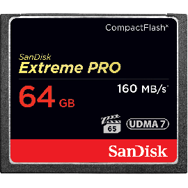 SanDisk Extreme Pro CF 64GB 160MB/s