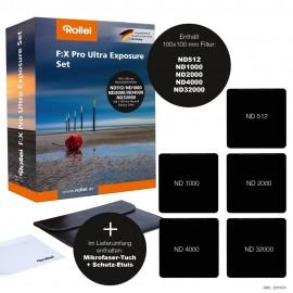 Rollei F:X Pro Rechteckfilter-Set für Ultra-Langzeitbelichtung