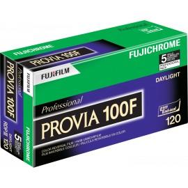 Fujifilm Provia 100 F 120 5 Stück