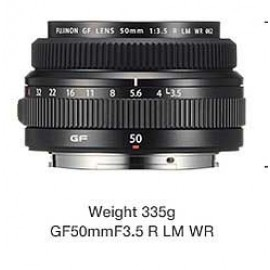 Fujifilm Fujinon GF50mm/3.5 R LM WR