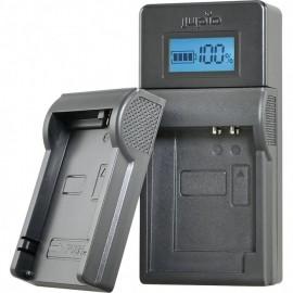 Jupio USB  Ladegerät Kit für Panasonic/Pentax/Fuji/Nikon/Olympus 3.6V-4.2V