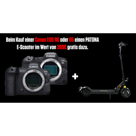 Canon EOS R6 Body + RF 35mm f/1.8 IS Macro STM schwarz -300 €  Sofort-Rabatt