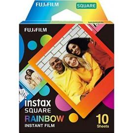 FUJI INSTAX SQUARE RAINBOW 10 BILDER