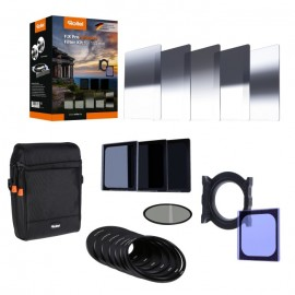 Rollei F:X Pro Ultimate Filter Kit-Alle Verlaufsfilter GND8,ND8,64,1000+CPL