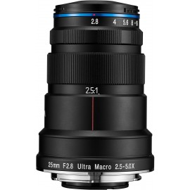 Laowa Venus 25mm f/2.8 2.5-5X Ultra-Macro Lens - Nikon F